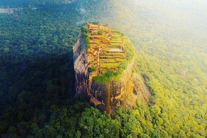 Sigiriya Rock Fortress and Dambulla Cave Temples Private Day Trip