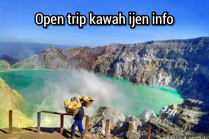 Open trip of Ijen crater 1H 1M