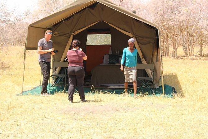 Dry & Wetland Mobile Tented Camping in Botswana