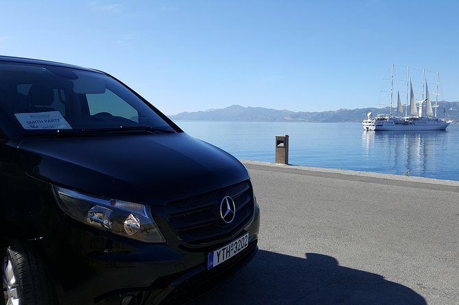 Private Transfer from Monemvasia Area & Neapoli to Athens/Athens Airport/Piraeus