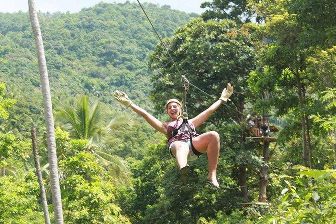 Ko Samui : Sky Fox Cable Ride in the Jungle