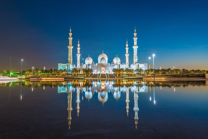 Abu Dhabi Mosque & City Tour + Hotel Pick Drop