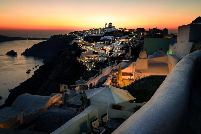 Private Sightseeing in Santorini By Night