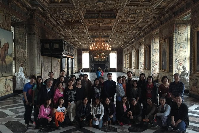 The Great hall - Guided tour at the Frederiksborg castle