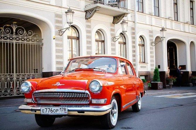 Retro car private tour in St. Petersburg