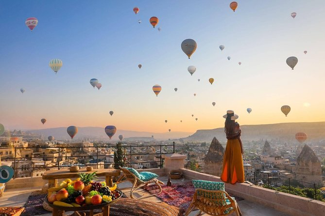 Most Popular Experiences of Cappadocia : Hot Air Balloon Ride, Full-day Red Tour