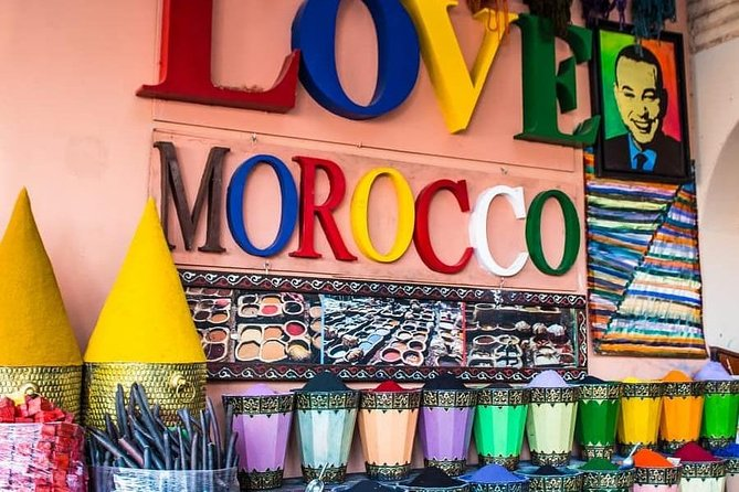 Half day walking tour in Marrakech with a guide