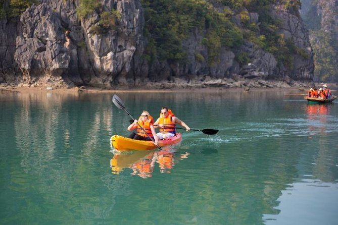 Explore Ha Long Bay full day Tour with Luxury Wonderbay cruise by new freeway
