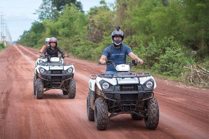 Siem Reap Quad Bike Countryside Tour for 4 hours Driving