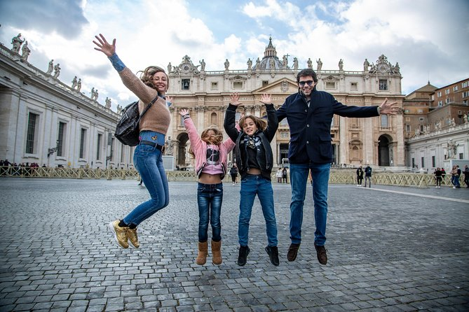 Family Friendly Semi-Private Vatican Tour including Sistine Chapel & Saint Peter