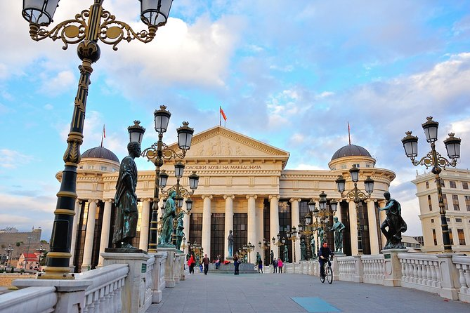 Full Day Food by Foot Skopje City Tour plus Matka Canyon