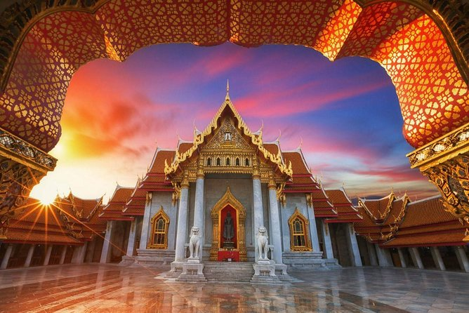 Skip the Line: Grand Palace & Emerald Buddha 【Combo Ticket / Guided Tour】