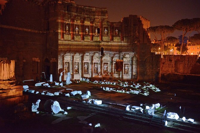 Roman Forum Experience: admission ticket + night lights show