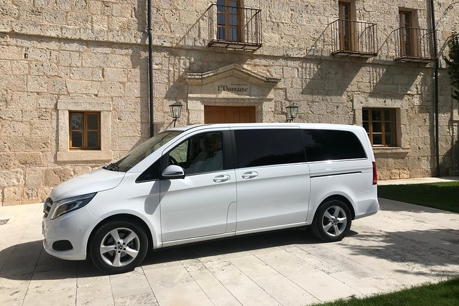 Departure Private Transfer Valladolid City to Valladolid Airport by Luxury Van