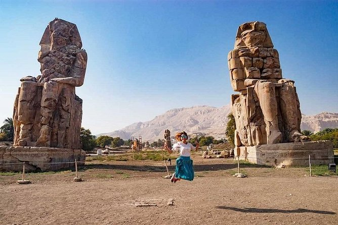 West Bank Sightseeing Tour in luxor and Light Show