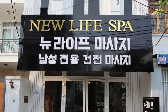 New Life Spa Massage body + Vùng háng dành cho nam giới đầu tiên ở Đà Nẵng