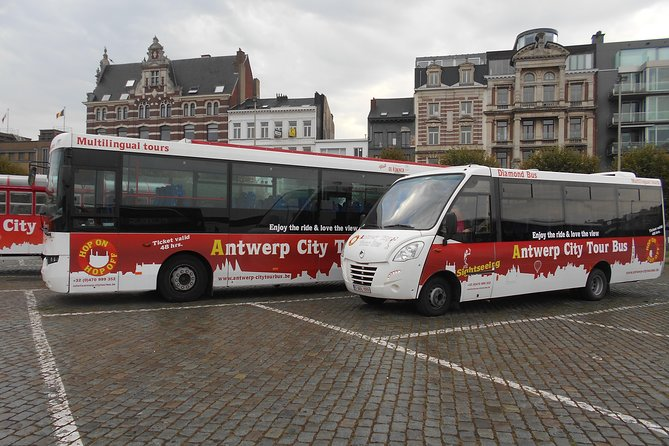 1 Hour Antwerp Citytour Hop On Hop Off