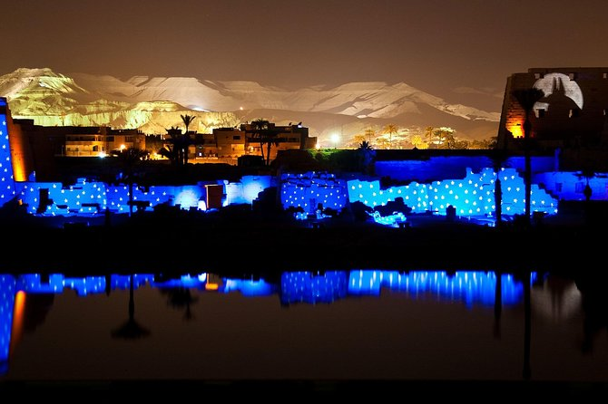 Tour to Karnak sound & light show