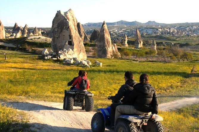 Cappadocia Adventure : ATV Quad Safari & Cappadocia Red Tour Including Lunch