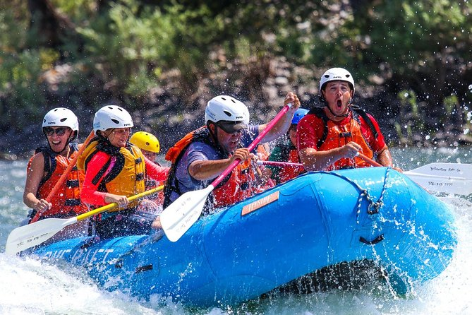 Full Day Whitewater Rafting on the Yellowstone River
