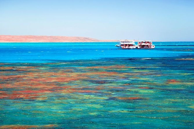 Hurghada Orange Bay by boat