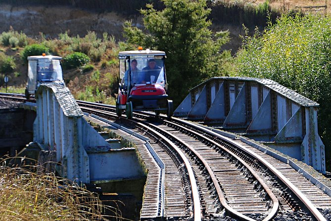 10 Tunnel Rail Cart Tour