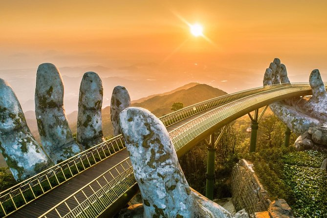 Ba Na Hill Golden Bridge Sunset & By Night-Private Tour