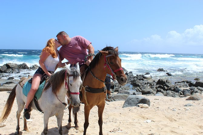 Private Beach & Arikok National Park Horseback Riding