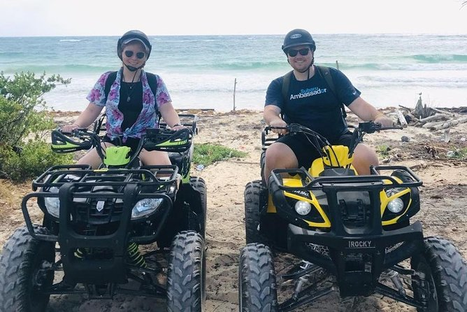 A True Extreme Adventure in ATV + Beach Day with open bar