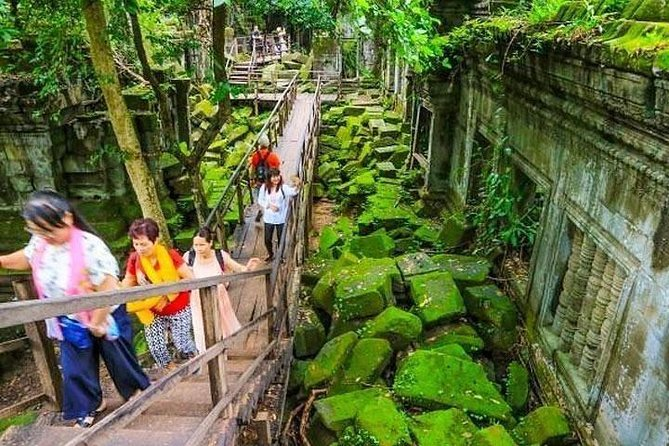 Koh Ker and Beng Mealea Excursion Join-in Tour - Free Hotel pickup