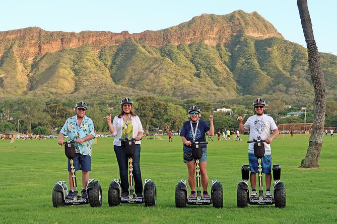 Waikiki Hoverboarding Signature Aloha Tour to Diamond Head Lighthouse 2hr15m