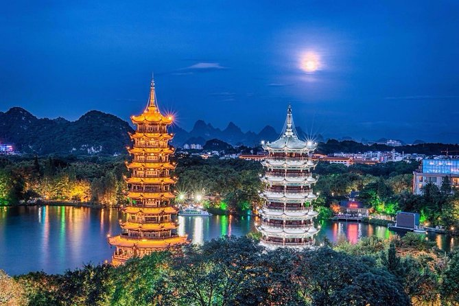 Private Guilin Half day Classic tour plus evening river cruise