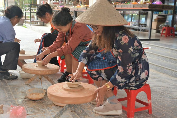 Full Day Countryside Bicycle Tours To 1000 Years Old Bat Trang Pottery Village