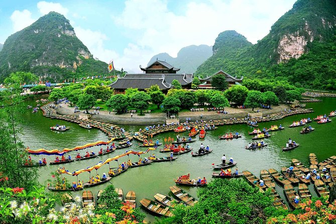 Full Day Tour From Hanoi: Bai Dinh Pagoda & Trang An Boating