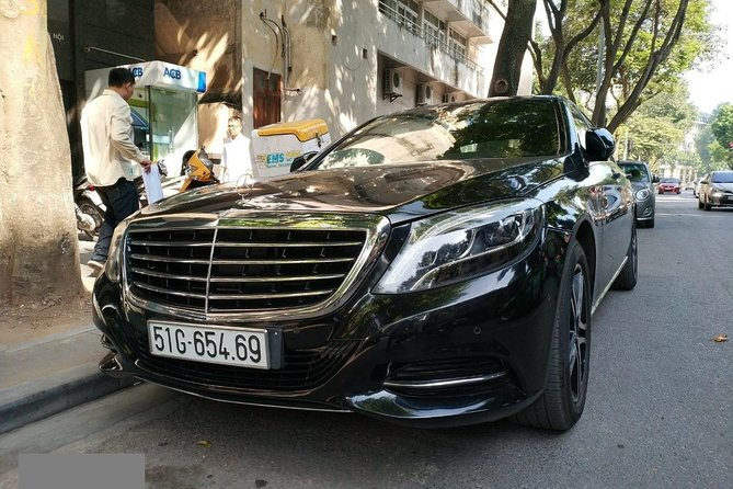 SGN Airport pick up by Mercedes Benz S-Class photo 7