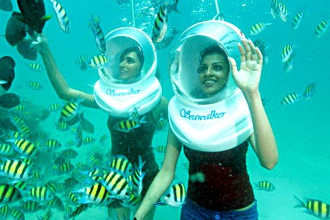 Sea Walking Experience at Tanjung Benoa