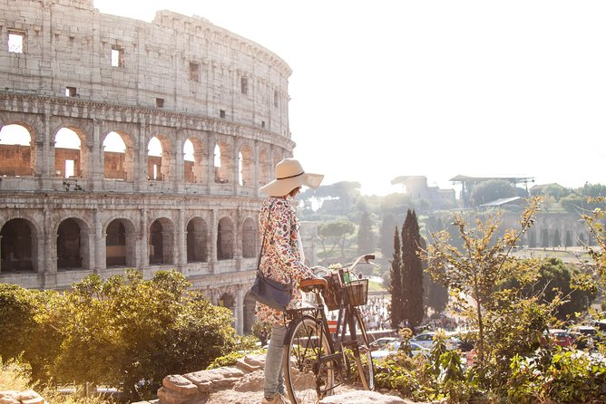 Rome by Bike Panoramic Views and Colosseum Guided Tour | Skip the Line tickets