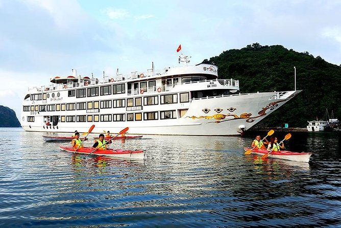 Starlight Cruise - Bai Tu Long Bay 2 Days 1 Night Luxury Tour