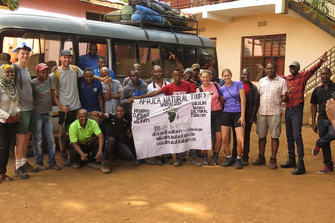 6 Days Kilimanjaro Hiking Machame Route With AFRICA NATURAL TOURS Co L.T.D