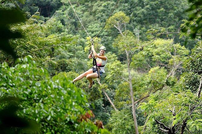 Flying Hanuman Ziplining Experience in Phuket with Return Transfer