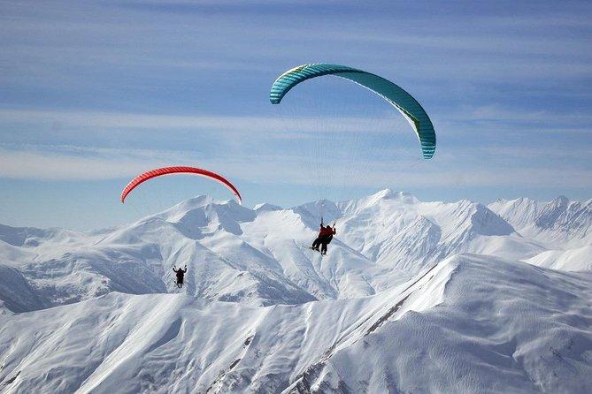 Gudauri Paragliding/Skiing Experience