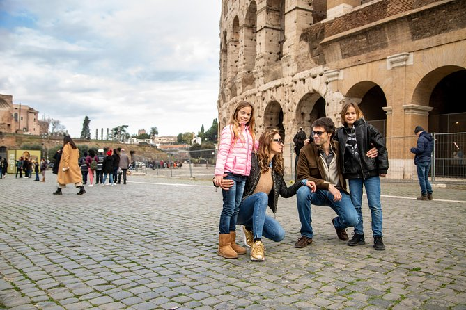 All Inclusive Kids Tour of the Colosseum Roman Forum & Palatine Hill w Pick up