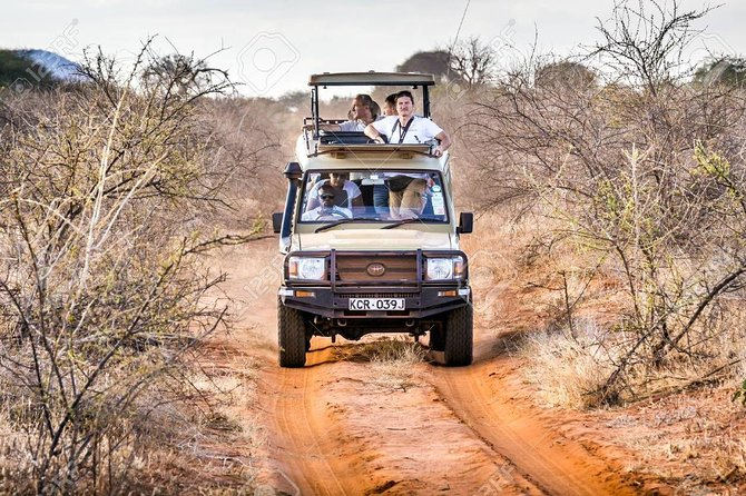 2 Days Tsavo east with 4x4 Safari Jeep