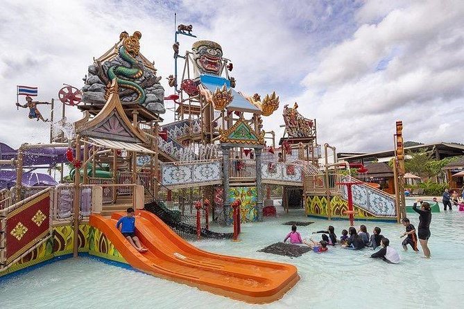 Ramayana Water Park at Pattaya Admission Ticket with Return Transfer