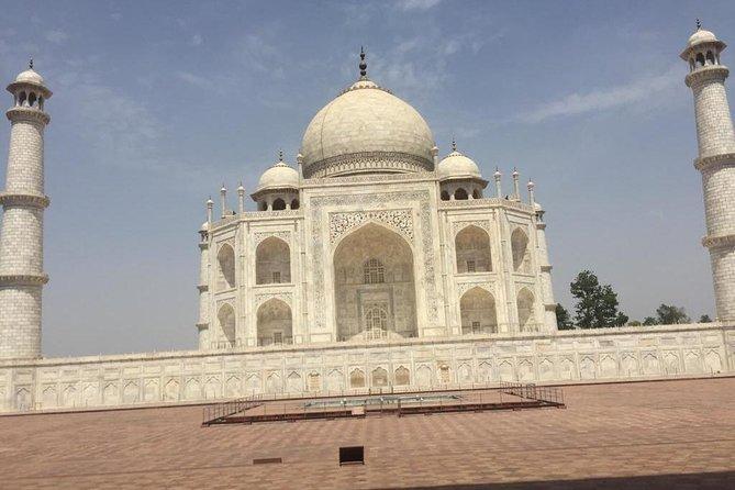 AGRA city Taj Mahal Tour by car or train from Jaipur