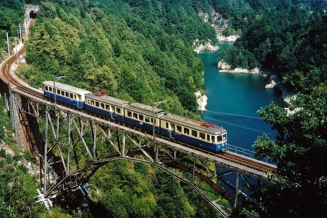 Ticket to ride: a panoramic train running close to Lake Maggiore