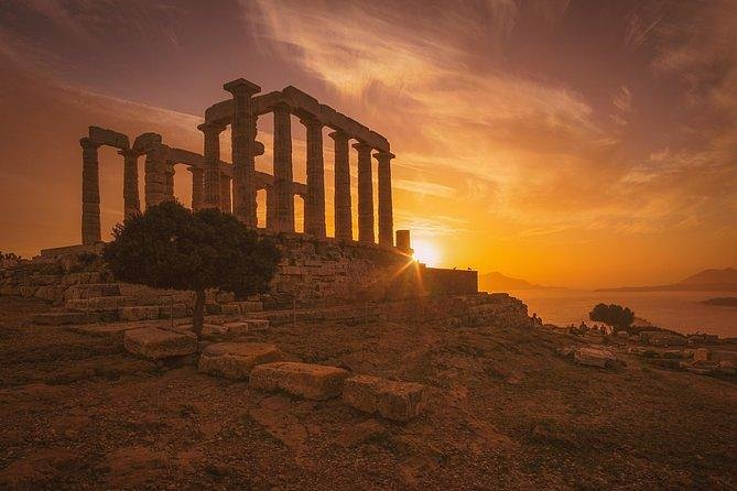 Private Sunset Tour of Cape Sounion, Temple of Poseidon & Athens Riviera