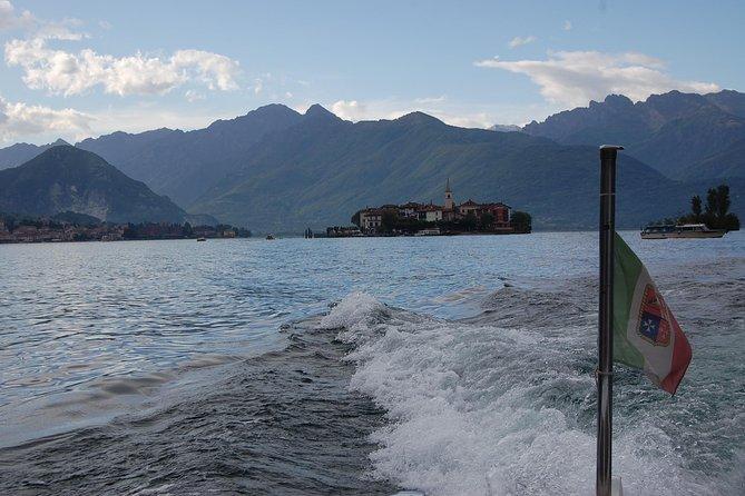 A private cruise by taxi boat - Lake Maggiore
