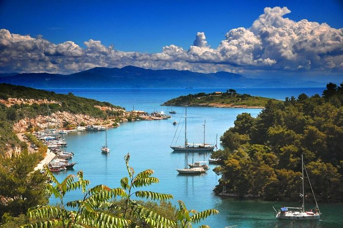 Shared Day Cruise from Corfu to Paxos-Gaios village via Antipaxos