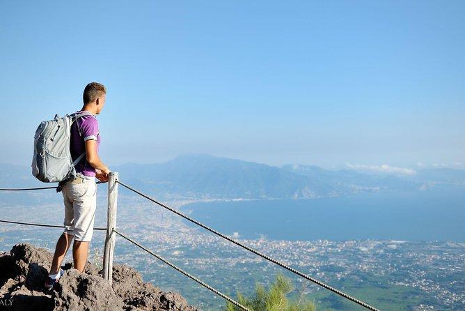 Mt Vesuvius, Pompeii & local wine tour from SORRENTO